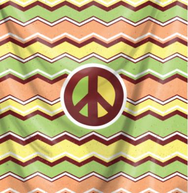Миру мир - Печать на ткани