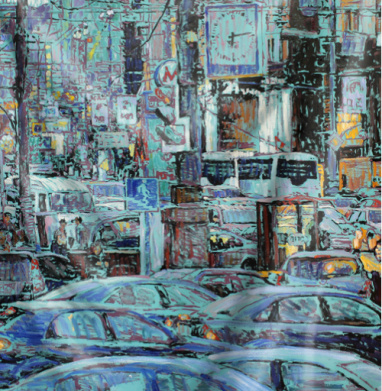 Московское время - живопись, Популярные
