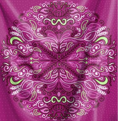 Разнотравие - Печать на ткани