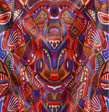 Ткань мира - Череп