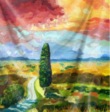Тосканский полдень - живопись, Популярные