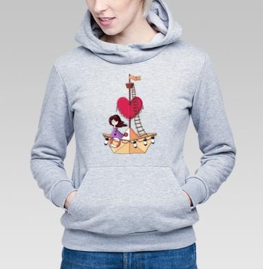 Бумажный корабль - Купить детские толстовки морские  в Москве, цена детских  морских   с прикольными принтами - магазин дизайнерской одежды MaryJane