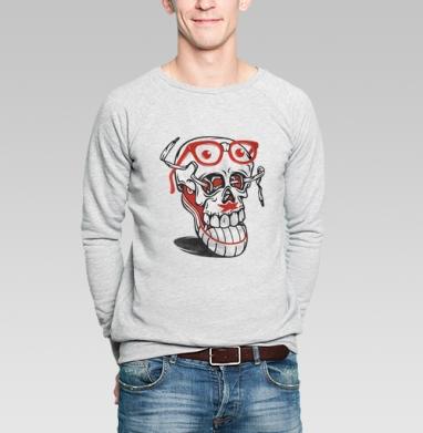 Я и кеды - Купить мужские свитшоты с усами в Москве, цена мужских свитшотов с усами  с прикольными принтами - магазин дизайнерской одежды MaryJane
