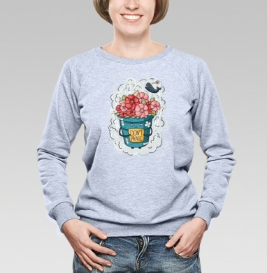 Не паниковать - Купить детские свитшоты с персонажами в Москве, цена детских свитшотов с персонажами  с прикольными принтами - магазин дизайнерской одежды MaryJane