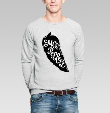 Мистер и миссис Перец     (жен.) - Купить мужские свитшоты парные в Москве, цена мужских  парных  с прикольными принтами - магазин дизайнерской одежды MaryJane