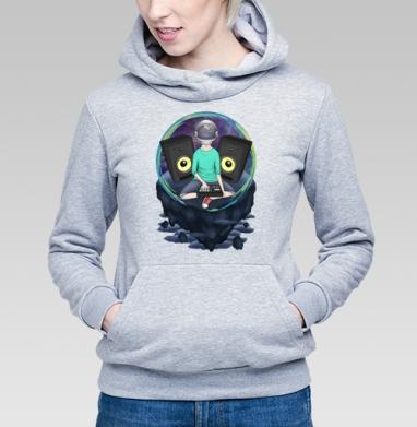 Нейронавт - Купить детские толстовки музыка в Москве, цена детских толстовок музыкальных  с прикольными принтами - магазин дизайнерской одежды MaryJane