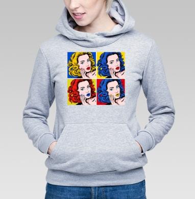 Поп-арт в моде - Купить детские толстовки модные в Москве, цена детских толстовок модных  с прикольными принтами - магазин дизайнерской одежды MaryJane