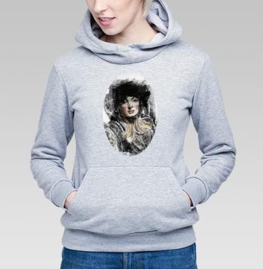 Девушка ретро - Купить детские толстовки нежность в Москве, цена детских толстовок нежность  с прикольными принтами - магазин дизайнерской одежды MaryJane