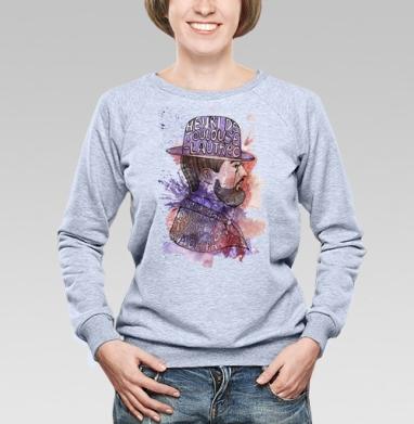 Тулуз-Лотрек - Купить детские свитшоты с акварелью в Москве, цена детских свитшотов с акварелью  с прикольными принтами - магазин дизайнерской одежды MaryJane