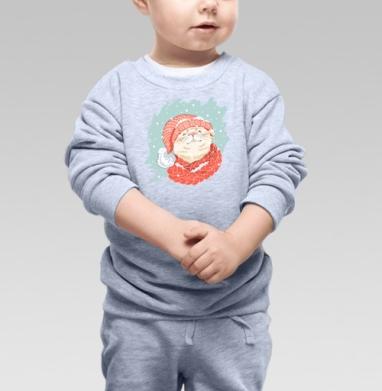 К зиме готов - Купить детские свитшоты с кошками в Москве, цена детских свитшотов с кошками  с прикольными принтами - магазин дизайнерской одежды MaryJane