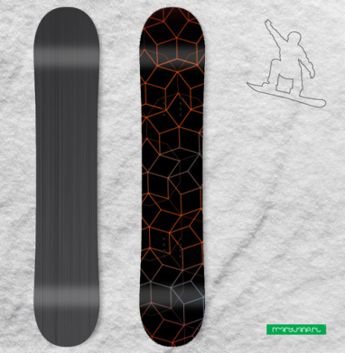 Узор - Наклейки на доски - сноуборд, скейтборд, лыжи, кайтсерфинг, вэйк, серф