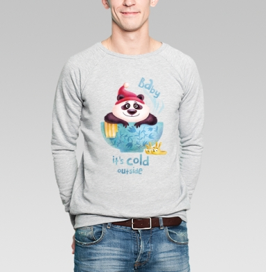 Утепляйся - Купить мужские свитшоты Новый год в Москве, цена мужских  новогодних  с прикольными принтами - магазин дизайнерской одежды MaryJane
