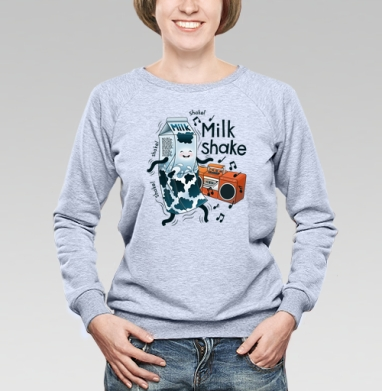 MilkShake! - Купить детские свитшоты с едой в Москве, цена детских свитшотов с едой  с прикольными принтами - магазин дизайнерской одежды MaryJane