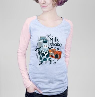 MilkShake! - Футболки с длинным рукавом женские