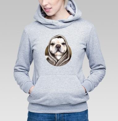 Бульдог по-французски - Купить детские толстовки с собаками в Москве, цена детских толстовок с собаками  с прикольными принтами - магазин дизайнерской одежды MaryJane