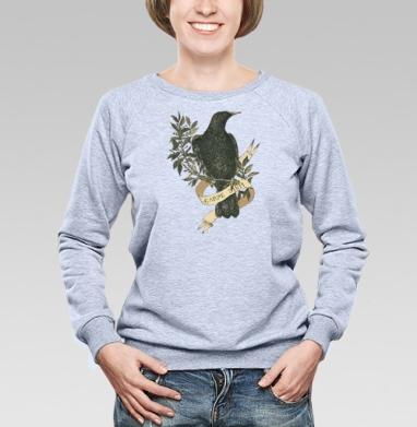 Скворец - Купить детские свитшоты с природой в Москве, цена детских свитшотов с природой  с прикольными принтами - магазин дизайнерской одежды MaryJane