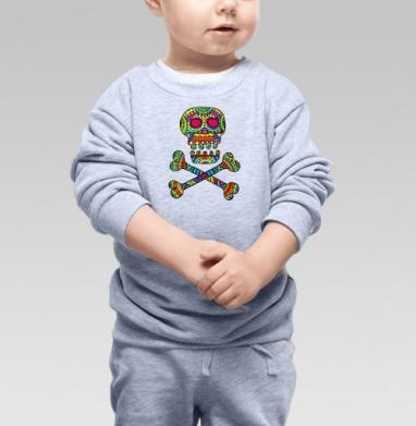 Мексиканский череп - Свитшоты детские