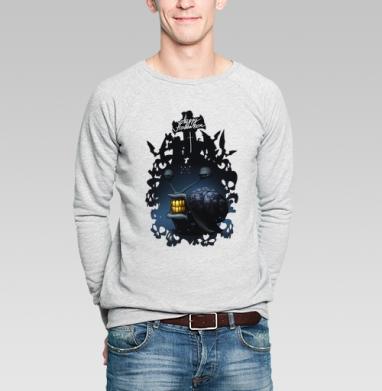 Космо-улитка - Купить мужские свитшоты с насекомыми в Москве, цена мужских свитшотов с насекомыми  с прикольными принтами - магазин дизайнерской одежды MaryJane