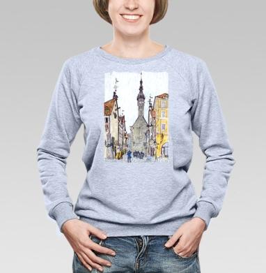 Таллин - Купить детские свитшоты со сказками в Москве, цена детских свитшотов со сказками  с прикольными принтами - магазин дизайнерской одежды MaryJane