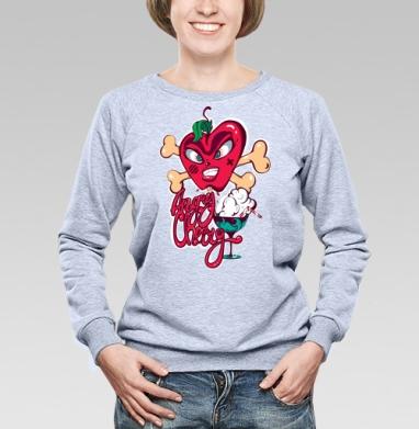 Злобная вишенка - Купить детские свитшоты с надписями в Москве, цена детских свитшотов с надписями  с прикольными принтами - магазин дизайнерской одежды MaryJane