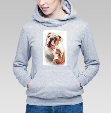 Материнская любовь - Купить детские толстовки с собаками в Москве, цена детских толстовок с собаками  с прикольными принтами - магазин дизайнерской одежды MaryJane