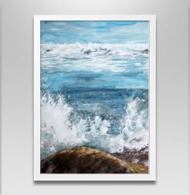 Танец пены морской - Постер в белой раме