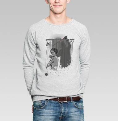 Хоррор - Купить мужские свитшоты секс в Москве, цена мужских свитшотов секс  с прикольными принтами - магазин дизайнерской одежды MaryJane