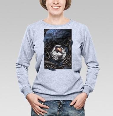 Ворон-страж - Купить детские свитшоты со сказками в Москве, цена детских свитшотов со сказками  с прикольными принтами - магазин дизайнерской одежды MaryJane