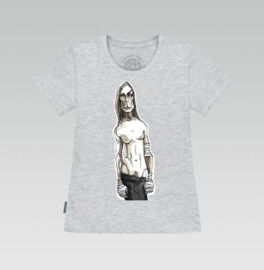 Футболка женская серый меланж - Игги