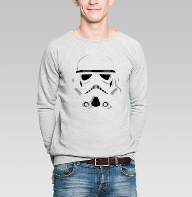 Шлем штурмовика - Купить мужские свитшоты с графикой в Москве, цена мужских  с графикой  с прикольными принтами - магазин дизайнерской одежды MaryJane