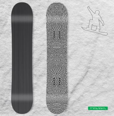 Цветочный в растре - Виниловые наклейки на сноуборд купить с доставкой. Воронеж