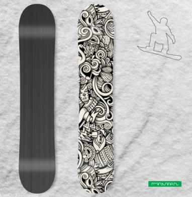 Латиноамерикано - Наклейка на сноуборд, olkabalabolka, Новинки