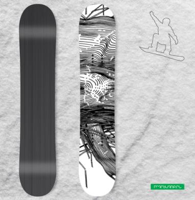 UNCOMBED - Наклейки на доски - сноуборд, скейтборд, лыжи, кайтсерфинг, вэйк, серф