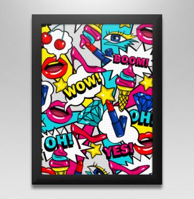 Яркие женские штучки - Купить постеры в москве