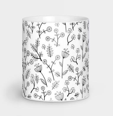 Милые цветочки - текстура, Новинки