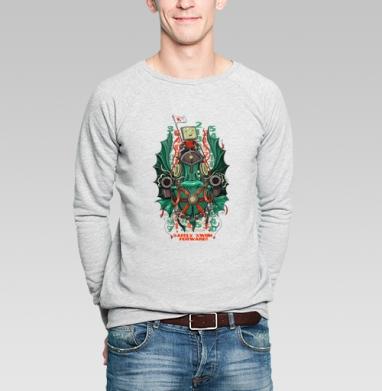 Смело плыть вперед - Купить мужские свитшоты с рыбой в Москве, цена мужских свитшотов с рыбой  с прикольными принтами - магазин дизайнерской одежды MaryJane