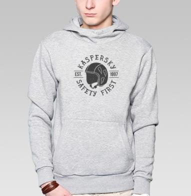 Безопасность превыше всего - Купить мужские толстовки ретро в Москве, цена мужских толстовок ретро  с прикольными принтами - магазин дизайнерской одежды MaryJane