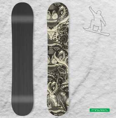 Забодай - Виниловые наклейки на сноуборд купить с доставкой. Воронеж