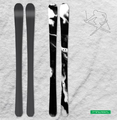 Чернила - Наклейки на лыжи