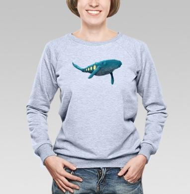 Кит Жюля Верна - Купить детские свитшоты с китами в Москве, цена детских свитшотов с китом с прикольными принтами - магазин дизайнерской одежды MaryJane