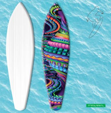 Цветовая карусель - Наклейки на серф