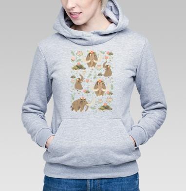 Мамонты - Купить детские толстовки с природой в Москве, цена детских  с природой  с прикольными принтами - магазин дизайнерской одежды MaryJane