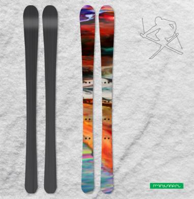 Думая - Наклейки на лыжи