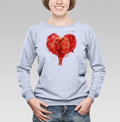 Сердце. - Купить детские свитшоты с любовью в Москве, цена детских свитшотов с любовью  с прикольными принтами - магазин дизайнерской одежды MaryJane