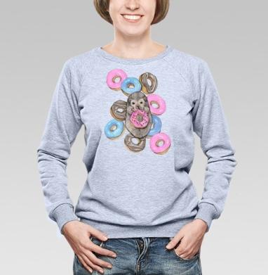 Сладкоежка - Купить детские свитшоты с едой в Москве, цена детских свитшотов с едой  с прикольными принтами - магазин дизайнерской одежды MaryJane