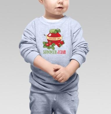 Лето в банке - Купить детские свитшоты с фруктами в Москве, цена детских свитшотов с фруктами  с прикольными принтами - магазин дизайнерской одежды MaryJane