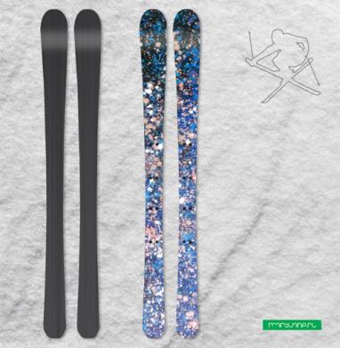 Плеяды - Наклейки на лыжи