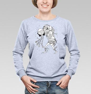 Попутчик - Купить детские свитшоты со сказками в Москве, цена детских свитшотов со сказками  с прикольными принтами - магазин дизайнерской одежды MaryJane
