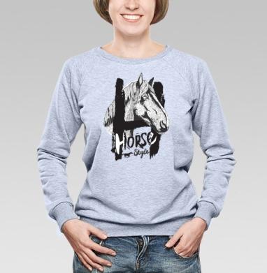 Морда лошади - Купить детские свитшоты красивые в Москве, цена детских свитшотов красивых  с прикольными принтами - магазин дизайнерской одежды MaryJane
