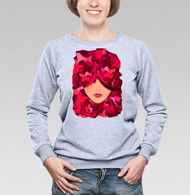 Весна - Купить детские свитшоты с усами в Москве, цена детских свитшотов с усами с прикольными принтами - магазин дизайнерской одежды MaryJane